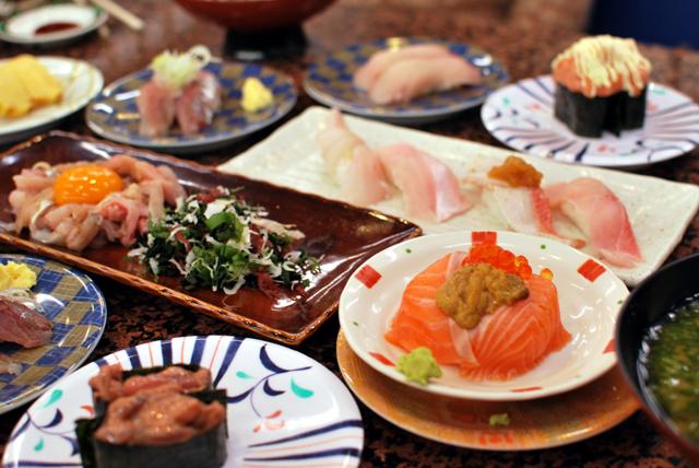 回転寿司 おかべ屋